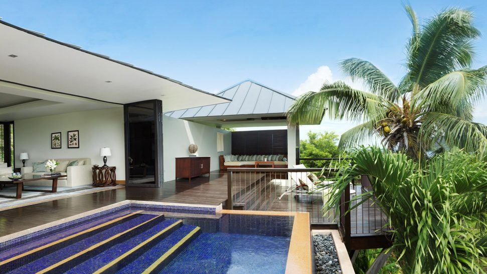 Raffles Seychelles One Bedroom Garden View Villa