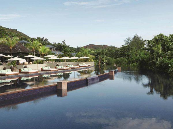 Raffles Seychelles Outdoor Pool