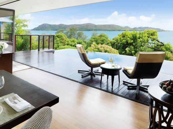 Raffles Seychelles Two Bedroom Beachfront Villa
