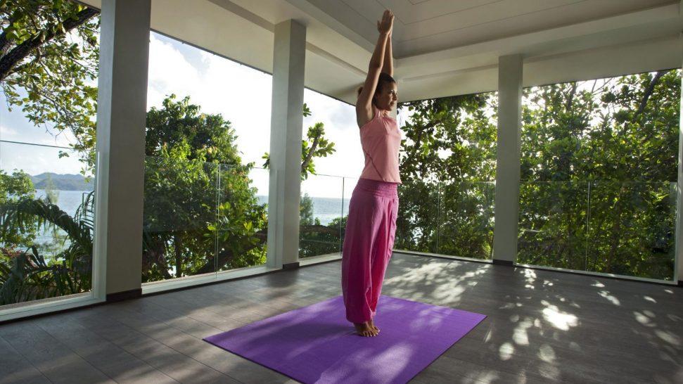 Raffles Seychelles Yoga