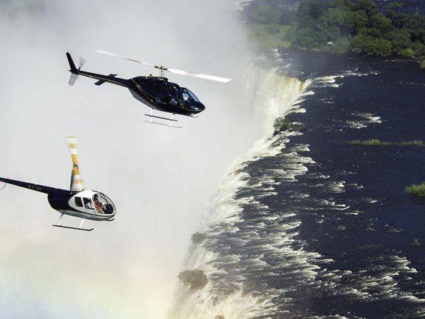 Royal Chundu Zambezi River Lodge Helicopter Flights
