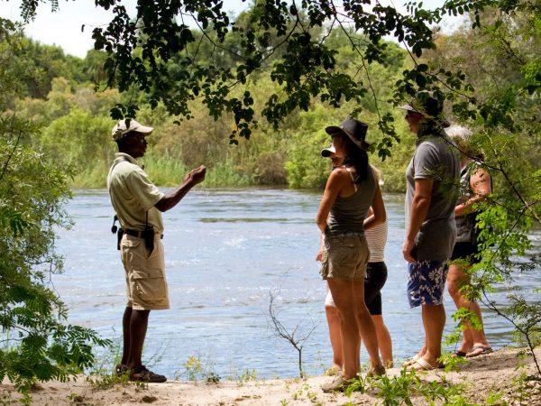 Royal Chundu Zambezi River Lodge Katombora Island Walk