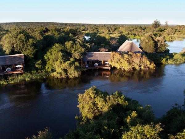Royal Chundu Zambezi River Lodge Lobby Top View