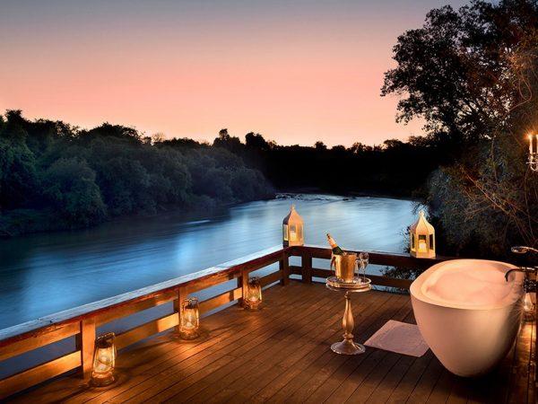Royal Chundu Zambezi River Lodge Outside View