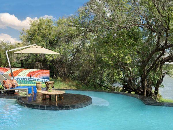 Royal Chundu Zambezi River Lodge Pool