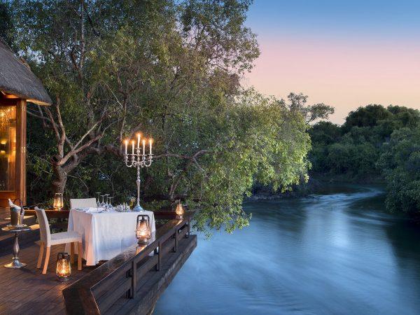 Royal Chundu Zambezi River Lodge River View