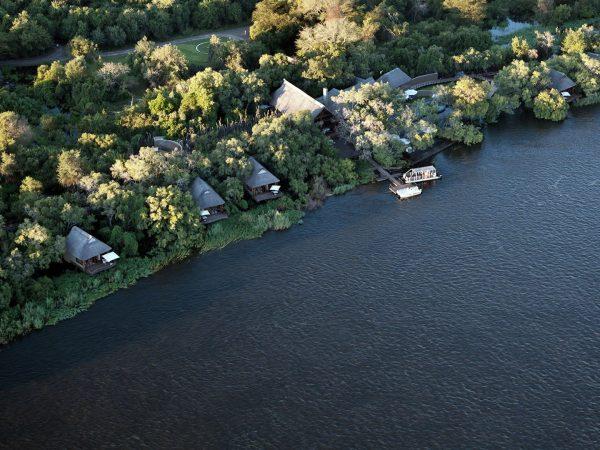 Royal Chundu Zambezi River Lodge Top View