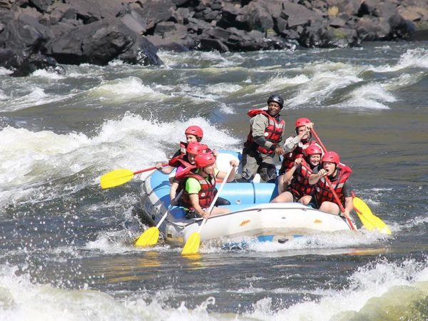 Royal Chundu Zambezi River Lodge White Water Rafting
