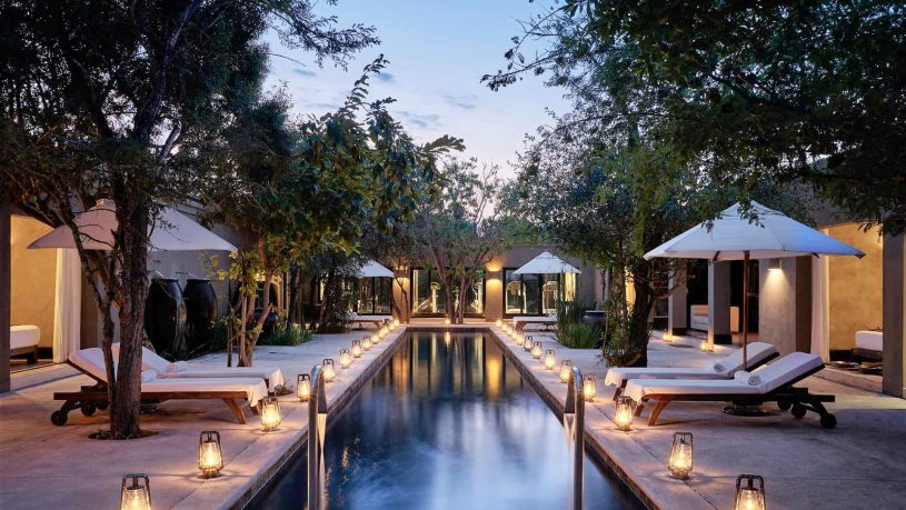 Royal Malewane Lodge Pool