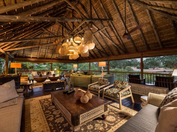 Sabi Sabi Bush Lodge Safari Deck