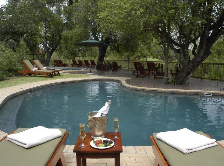 Sabi Sabi Bush Lodge Swimming Pool Area