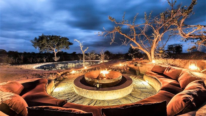 Sabi Sabi Earth Lodge Firepit
