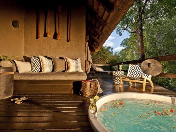 Sabi Sabi Little Bush Camp Heated Spa Bath