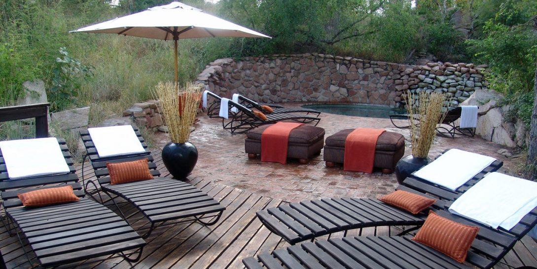 Sabi Sabi Little Bush Camp Pool Deck