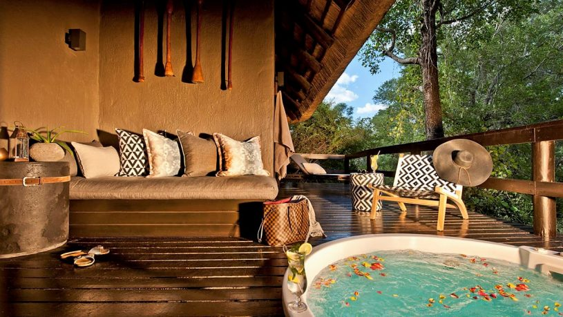 Sabi Sabi Little Bush Camp Private Deck Jacuzzi