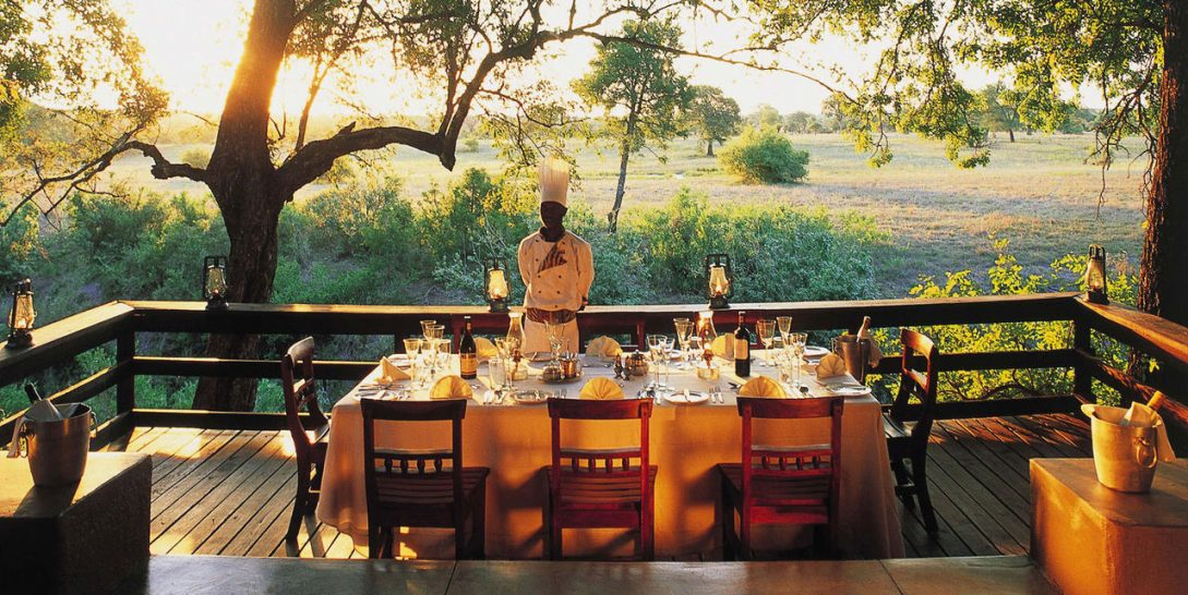 Sabi Sabi Selati Camp Lunch dining area