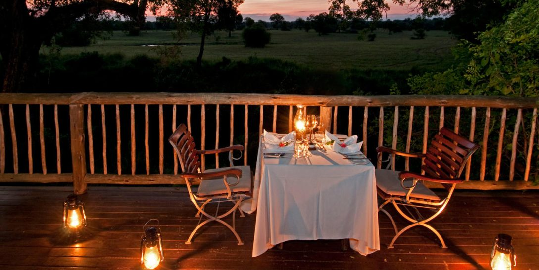 Sabi Sabi Selati Camp Private dining