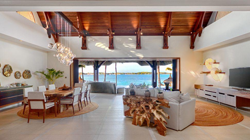 Shangri La's Le Touessrok Resort And Spa Beach Villa