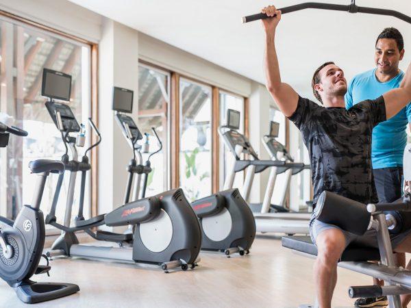Shangri La's Le Touessrok Resort And Spa Gym