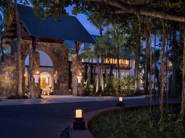 Shangri La's Le Touessrok Resort And Spa Hotel Entrance