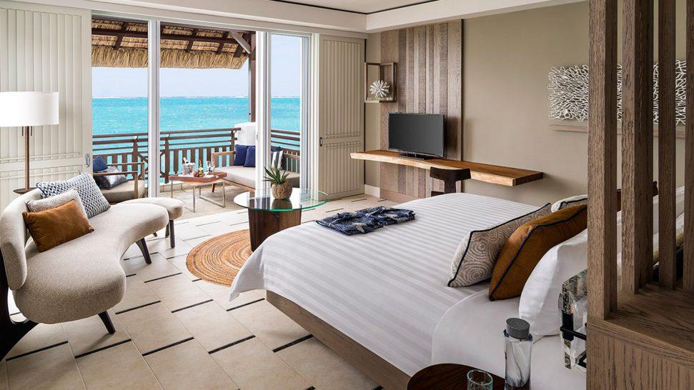 Shangri La's Le Touessrok Resort And Spa Junior Suite Frangipani Ocean View