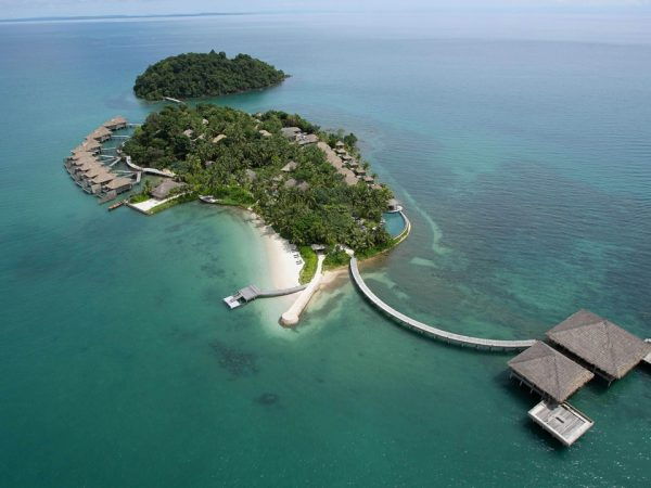 Song Saa Private Island Aerial