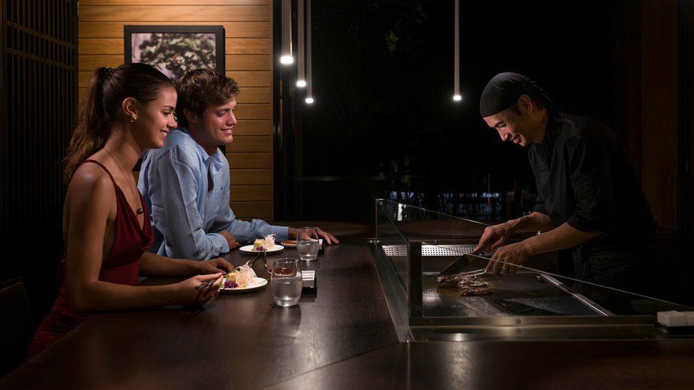The Brando Nami teppanyaki
