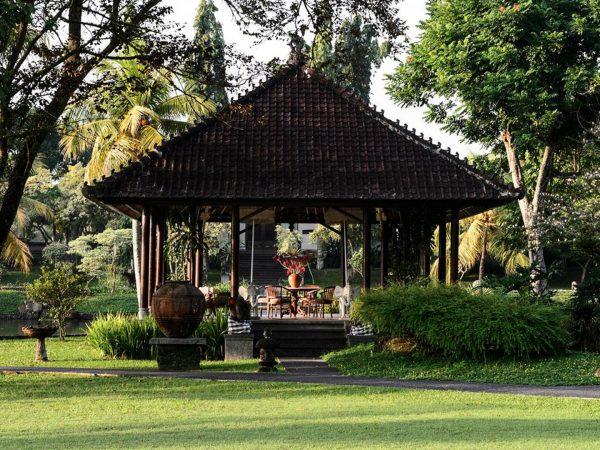 The Chedi Club Tanah Gajah Ubud Garden area