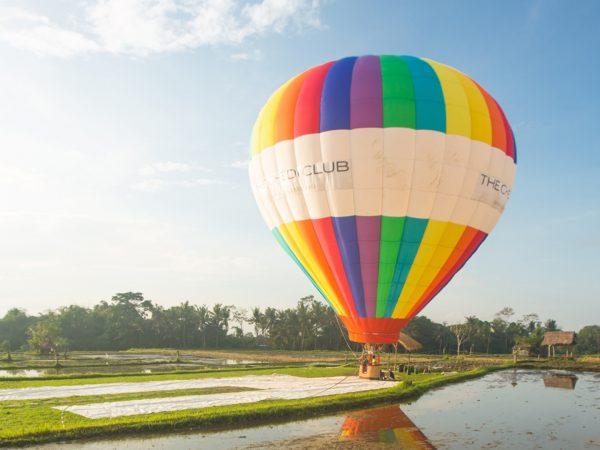 The Chedi Club Tanah Gajah Ubud Hot Air Balloon