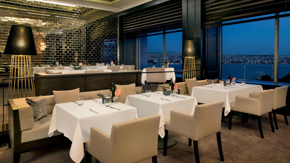 The Ritz Carlton Istanbul Atelier Real Food
