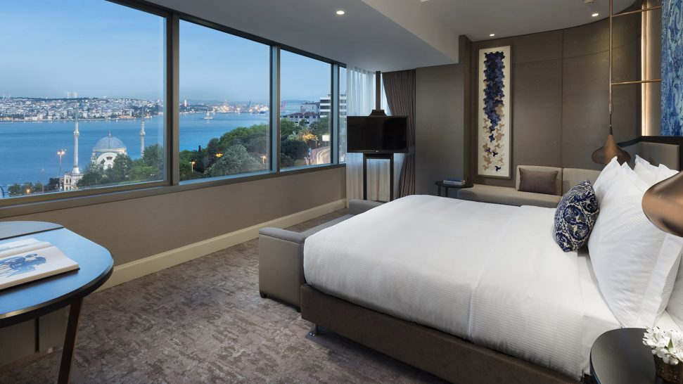 The Ritz Carlton Istanbul Front Bosphorus View Room