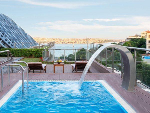 The Ritz Carlton Istanbul Outdoor Pool