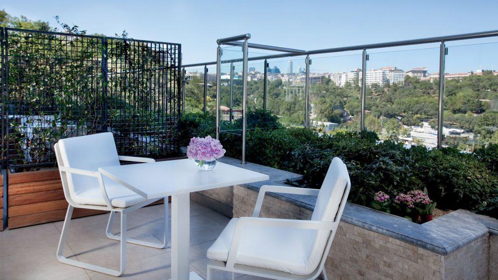 The Ritz Carlton Istanbul Partial Bosphorus View Balcony Room