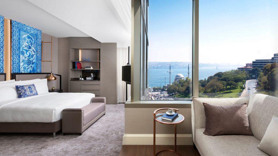 The Ritz Carlton Istanbul Premium Bosphorus View Room