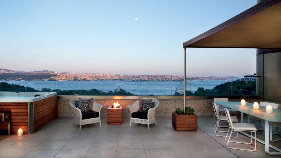 The Ritz Carlton Istanbul Terrace Suite