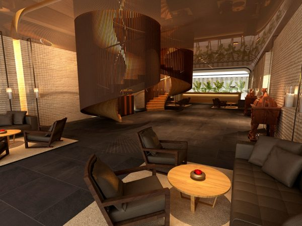 The Ruma Hotel And Residences Seven Lobby Bar and Lounge