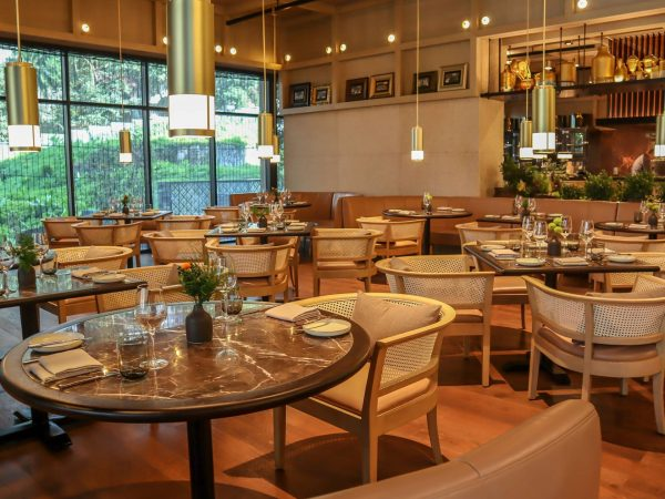 The Ruma Hotel and Residences Atas modern Malaysian eatery