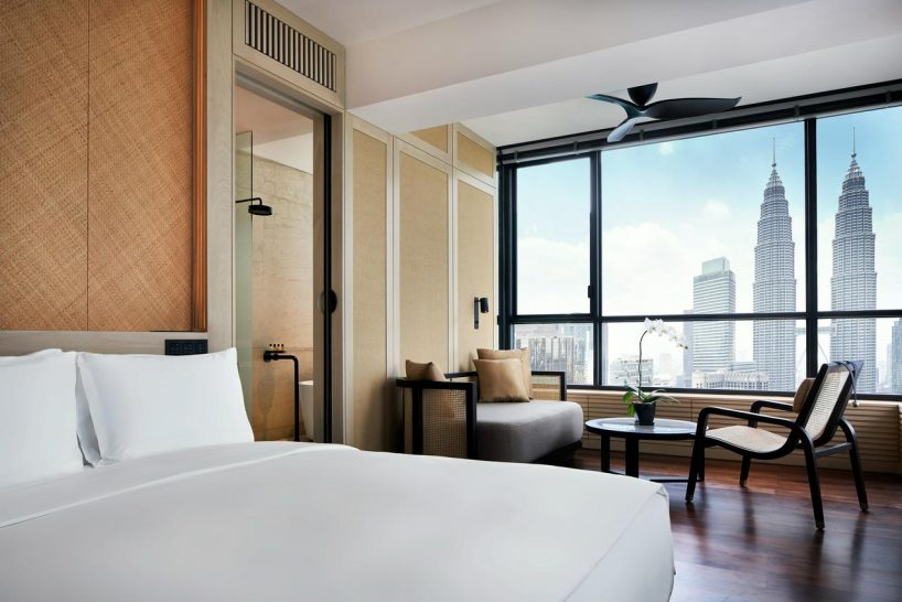 The Ruma Hotel and Residences Deluxe King Room