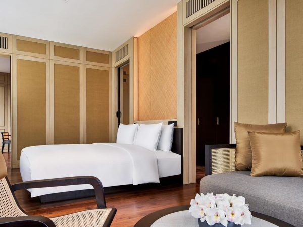 The Ruma Hotel and Residences Deluxe Suite Bedroom