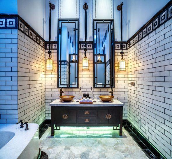 The Siam Bangkok Pool Villa Bathroom