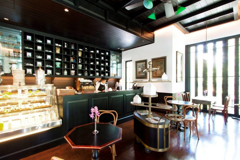 The Siam Hotel Bangkok, Cafe Chao