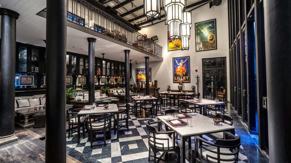 The Siam Hotel Bangkok Deco Bar & Bistro