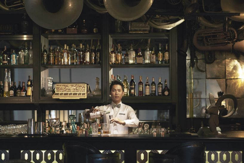 The Siam Hotel Bangkok Deco Bar and Bistro