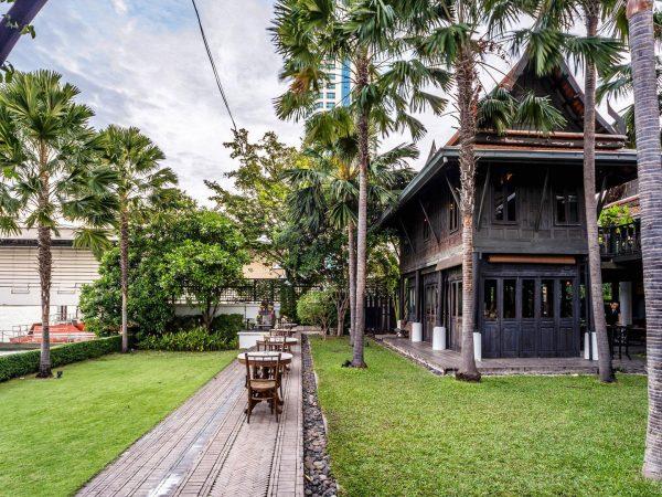 The Siam Hotel Bangkok Lobby Garden