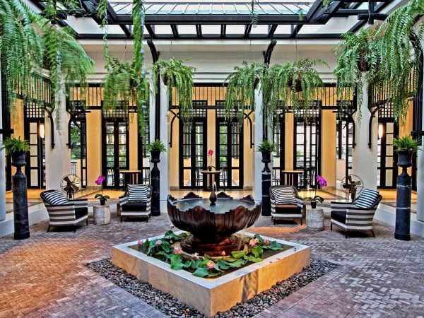 The Siam Hotel Bangkok Lobby View