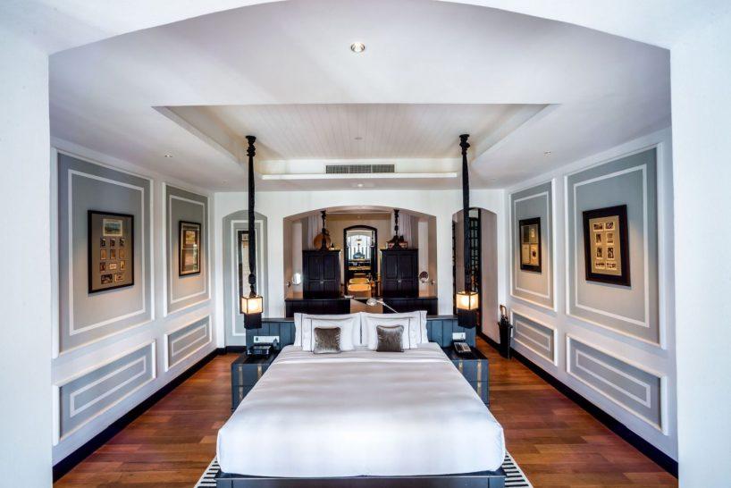 The Siam Hotel Bangkok Mae Nam Suite Bedroom