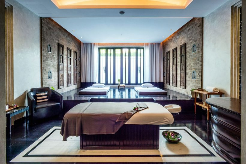 The Siam Hotel Bangkok Opium Spa Wellbeing Treatment Room
