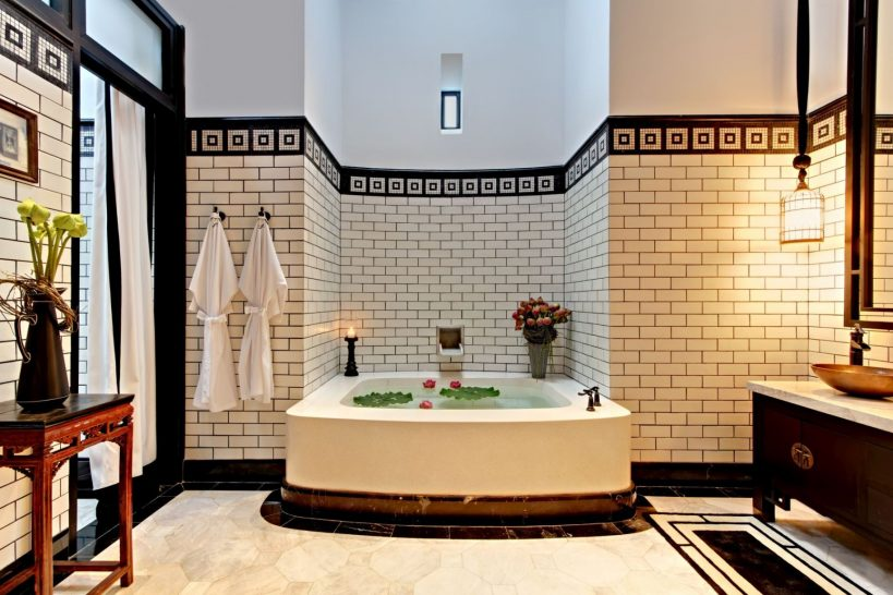 The Siam Hotel Bangkok Pool Villa Bathroom