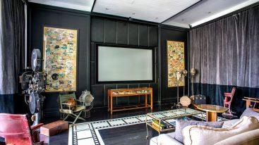 The Siam Hotel Bangkok Screening Room