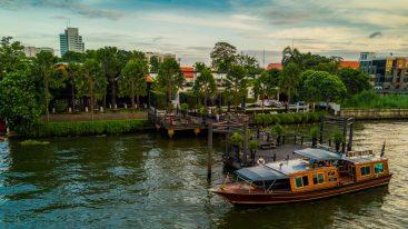 The Siam Hotel Bangkok Shuttle Cruise Boat